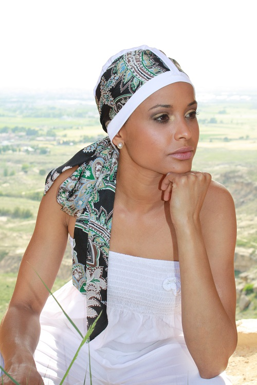 turbante quimioterapia Luana